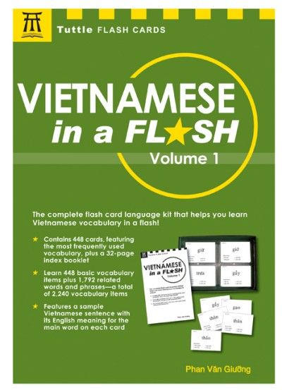 Vietnamese in a Flash Kit Volume 1