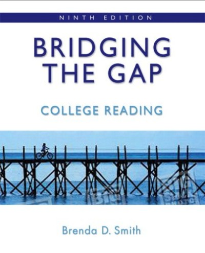 Bridging the Gap: College Reading (with MyReadingLab Student Access Code Card) 9th Edit