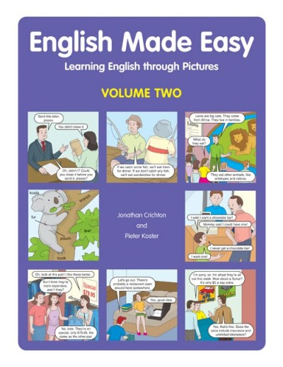 English Made Easy Volume Two - Learning English Through Pictures