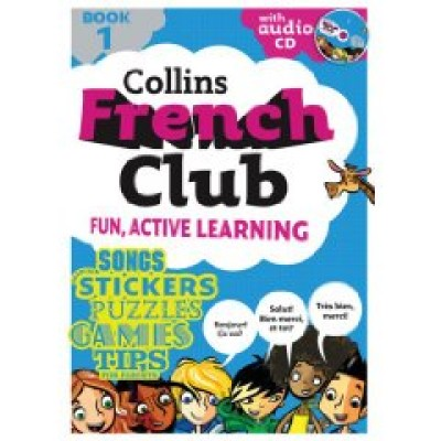 Collins French Club: Book 1 (Paperback with Audio CD)
