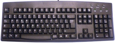 Keyboard for French (European) Black USB