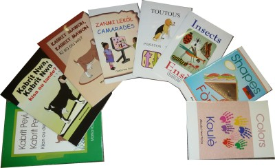 K-3 Home Language Series (Bilingual) includes 8 bilingual titles