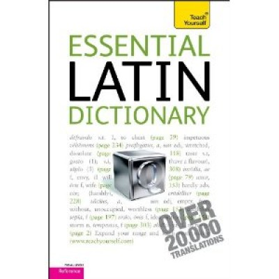 Essential Latin Dictionary: A Teach Yourself Guide (Paperback)