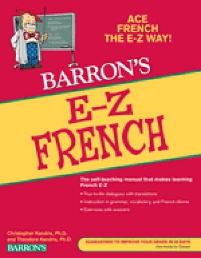 Barron's E-Z French (Paperback)