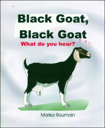 Black Goat, Black Goat Big Book in Haitian-Creole by Marika Roumain