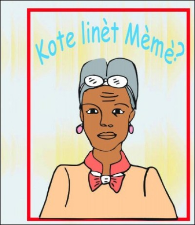 Where are Mèmè's Glasses? / Kote Linèt Mèmè? in English & Haitian-Creole by Nirvah Jean-Jacques