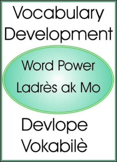 Vocabulary Development/ Devlope Vokabil� in English & Haitian-Creole by Maude Heurtelou
