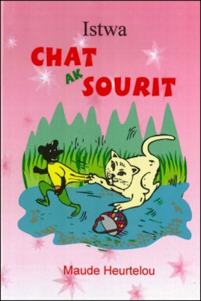 Istwa Chat ak Sourit / Cat & Mouse (book & audio cassette) in Haitian Creole