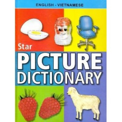 Vietnamese Star Children's Picture Dictionary (Hardcover)