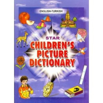 Turkish Star Children's Picture Dictionary (Hardcover)