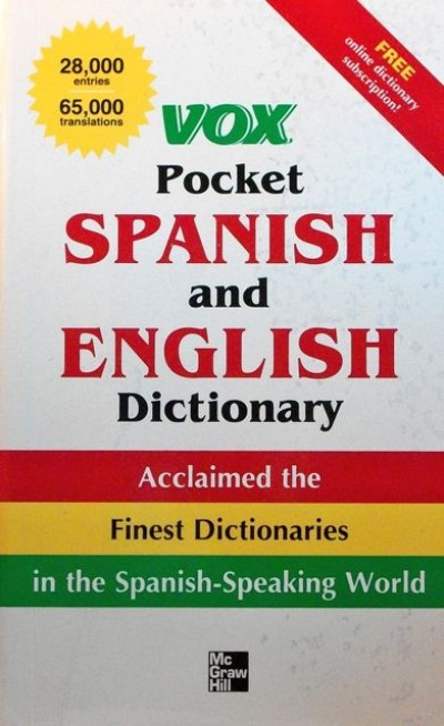 Vox Pocket Spanish and English Dictionary: