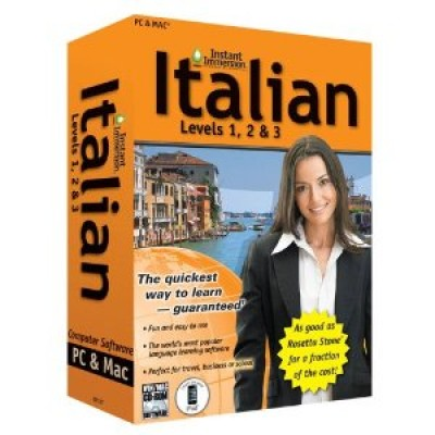 Instant Immersion Italian Level 1,2, and 3