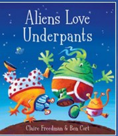 Aliens Love Underpants in Haitian-Creole and English by Claire Freedman