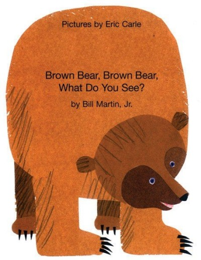 Brown Bear, What Do You See? in Albanian & English