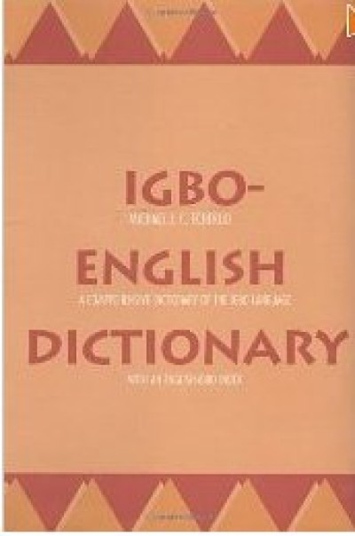 Igbo-English Dictionary