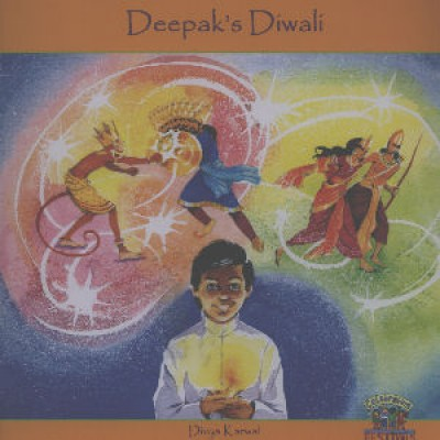 Deepak's Diwali in Nepali & English