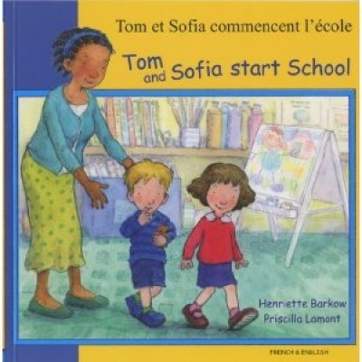 Tom and Sofia Start School, Tamil / English PB