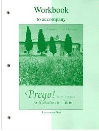 Workbook to accompany Prego! An Invitation to Italian, 7th Edition