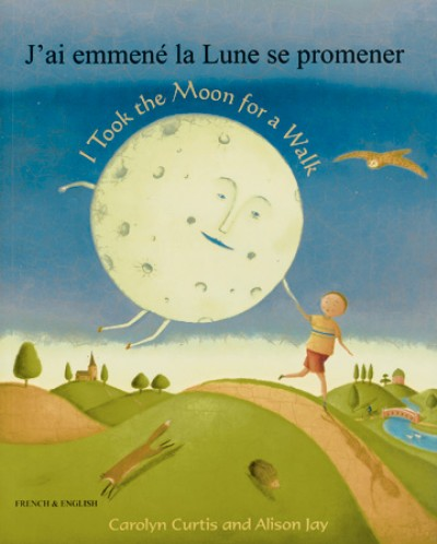 I Took the Moon for a Walk in Albanian & English (PB)