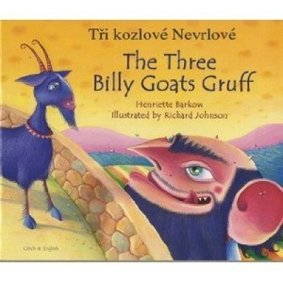 The Three Billy Goats Gruff in Portuguese & English (PB)