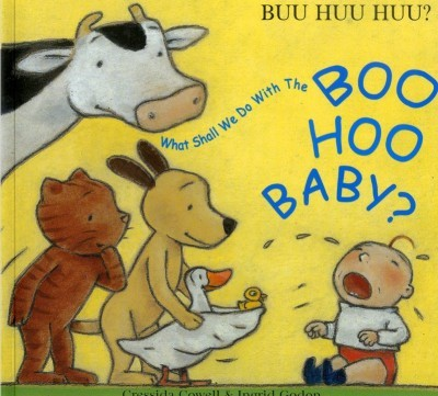 What Shall We Do With the Boo Hoo Baby? in Albanian & English (PB)