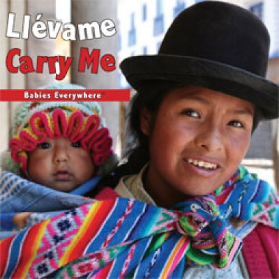 CARRY ME Board Book in Spanish & English