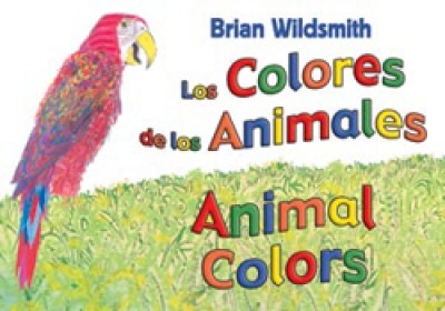 ANIMAL COLORS board book in Spanish & English