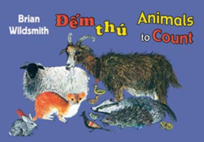 BRIAN WILDSMITH'S ANIMALS TO COUNT in Vietnamese & English board book