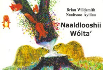 BRIAN WILDSMITH'S ANIMALS TO COUNT in Navajo only board book