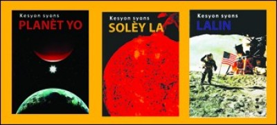 Space Science 3-Book Pack in Haitian Creole / Syans Lespas