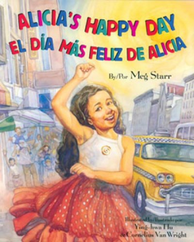 Alica's Happy Day in Spanish & English by Meg Starr [HB]