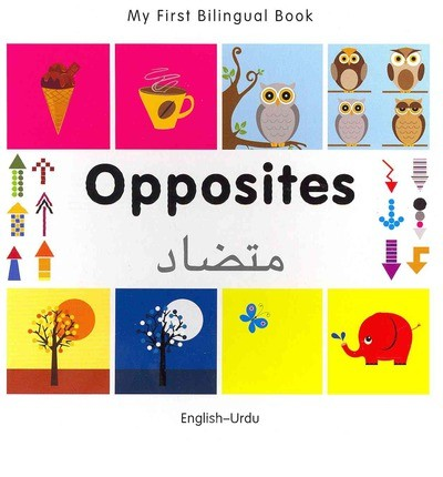 Bilingual Book - Opposites in Urdu & English [HB]