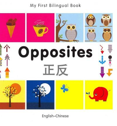 Bilingual Book - Opposites in Chinese & English [HB]