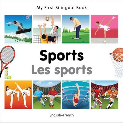 Bilingual Book - Sports in French & English [HB]