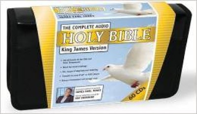 The Complete Audio Holy Bible: King James Version (Audio CD) with James Earl Jones