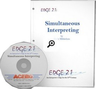 Edge 21 Bundle: Consecutive Interpreting, Sight Translation & Simultaneus Interpretering