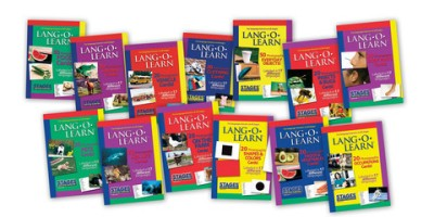 Children's Set of 13 Lang-O-Learn Flashcards