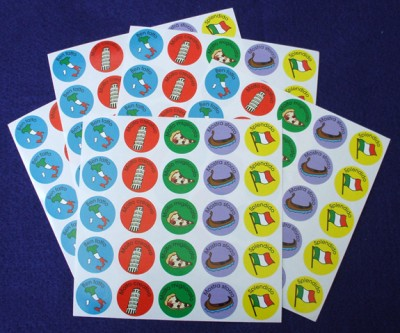 Sensational Stickers for the Italian Classroom