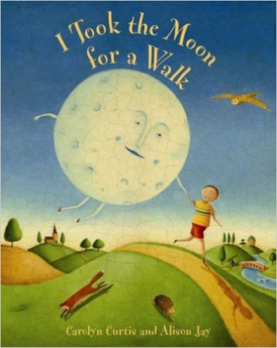 I took the Moon for a Walk in Slovakian & English (PB)
