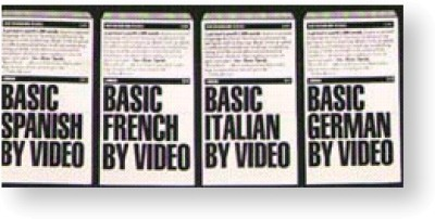 Language Library - Basic French on Video