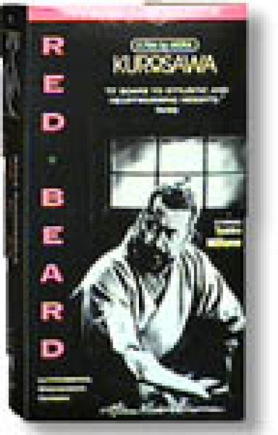 Red Beard by Kurosawa (VHS)