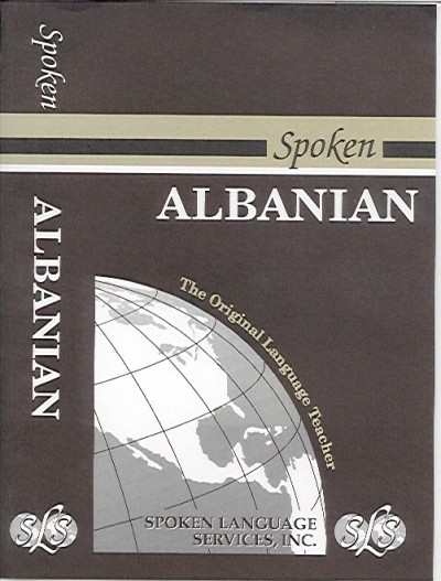 Spoken Albanian (354 pages 6 cass)