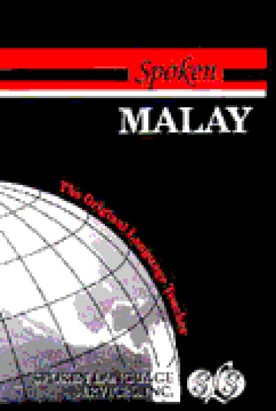 Spoken Malay (218 pages 6 cass)