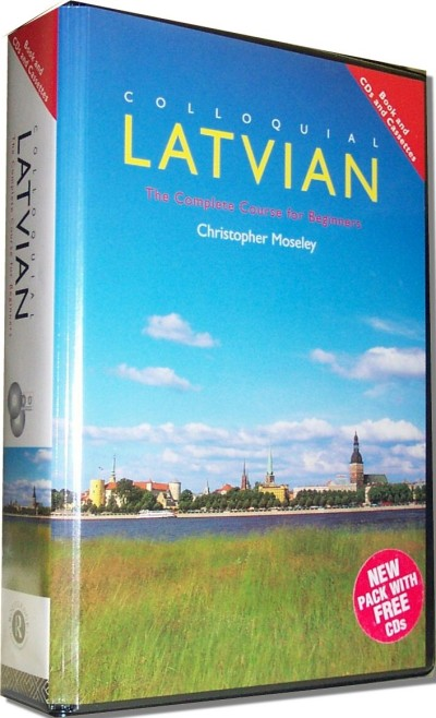 Colloquial Latvian: The Complete Course for Beginners (Book and Audio CDs)