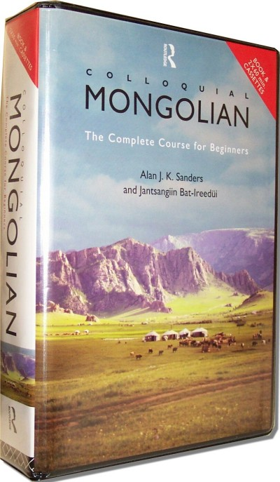 Colloquial Mongolian (288 pages & CDs)