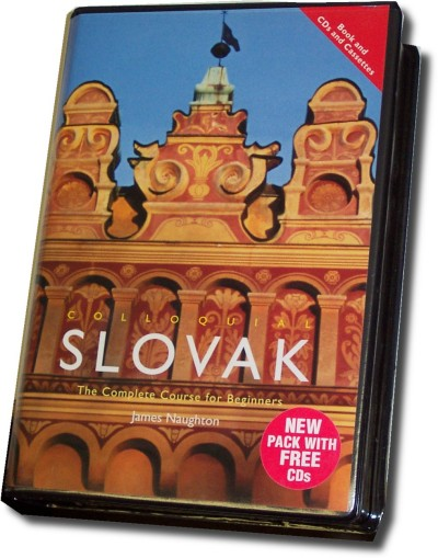 Colloquial Slovak (288 pages & CDs)