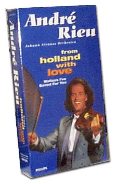 Andre Rieu, From Holland with Love (VHS)